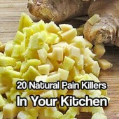 20 Natural Pain Killers In Your Kitchen - Natural painkillers are a great alternative to all of the chemicals and man made pills of today, did you know you probably have around 20 in your kitchen right now?