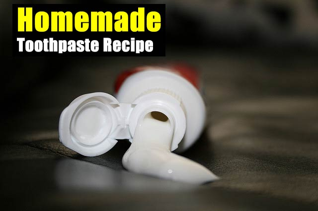 Homemade Toothpaste Recipe