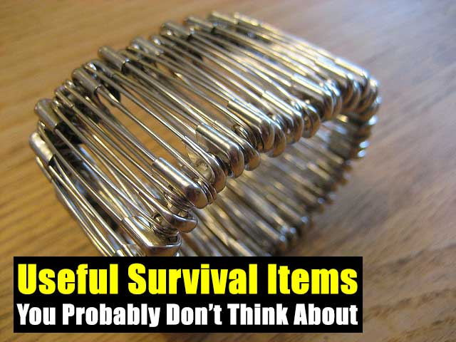 Shtf Emergency Preparedness: Useful Survival Items You Probably Don't Think About