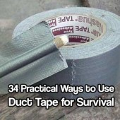 34 Practical Ways to Use Duct Tape for Survival & Emergencies