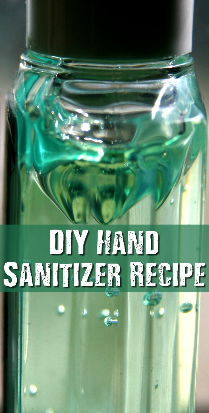 how to make hand sanitizer slime recipe