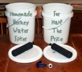 Homemade Berkey Water Filter For Half The Price - Make this DIY water filter for about half the price and get the same water purifying properties as the real Berkey water filter.