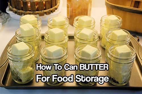 How To Can BUTTER For Food Storage - Butter isn't getting any cheaper so if you find a good deal at the supermarket buy it up and can it for use later down the line.