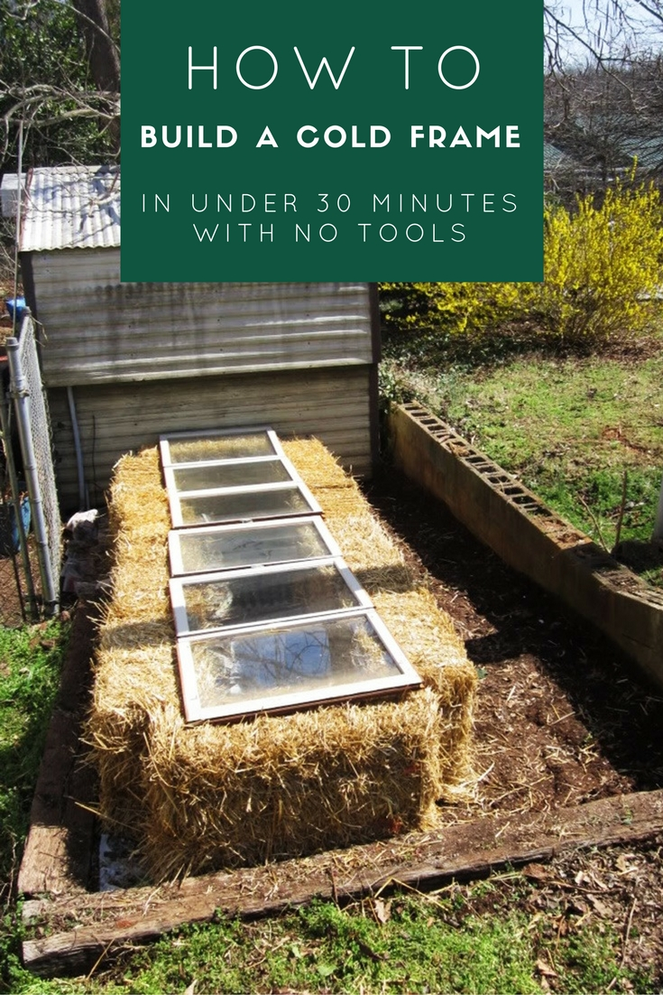 How to Build a Cold Frame in Under 30 Minutes With No Tools - SHTF ...