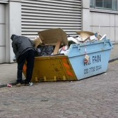 Dumpster Diving as an Urban Survival Food Strategy