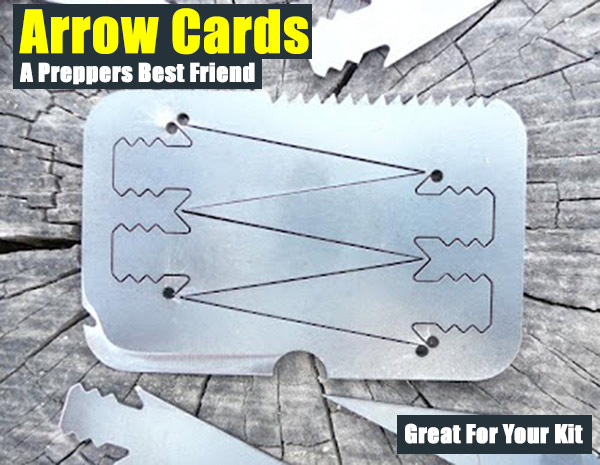 Arrow Cards - A Preppers Best Friend