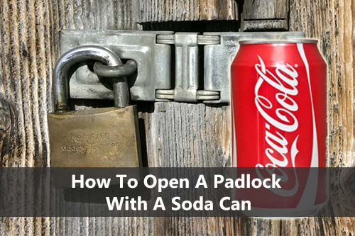 how to get a padlock off without the key