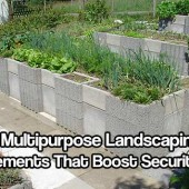 10 Multipurpose Landscaping Elements That Boost Security