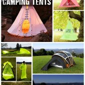 12 Strange and Creative Camping Tents - The name says it all.... Some are just plain crazy but I can see some that would be really handy and cool to have. This post is just to see whats available and whats coming out. If you have no bug out location or an alternative place to stay if SHTF and you have to leave your house a tent would not be a bad idea, especially the light travel ready ones.