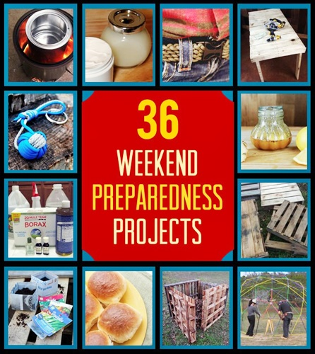 36 DIY Weekend Projects for Preparedness and Survival