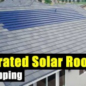 Integrated Solar Roof Tiles - In a SHTF situation normal solar panels may be a target for thieves! These solar panels are shaped like shingles and blend easier than traditional panels. In my area normal roof shingles are dark so these solar panel shingles will blend in better.