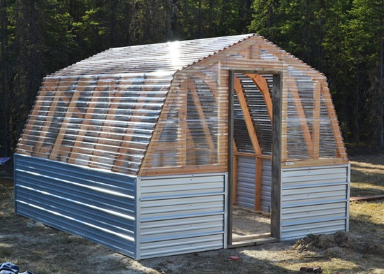 Just coop permanent hoop chicken coop building guide project for Diy chicken house plans free