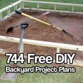 744 Free Do It Yourself Backyard Project Plans