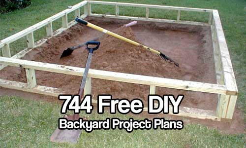 pics photos 744 free do it yourself backyard project plans