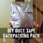 DIY Duct Tape Backpacking Pack