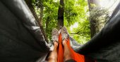 Hammock Compatible Sleeping Bag — If you enjoy camping but hate sleeping on the ground, the Hammock Compatible Sleeping Bag might be just the thing you need to make that outdoor adventure enjoyable.