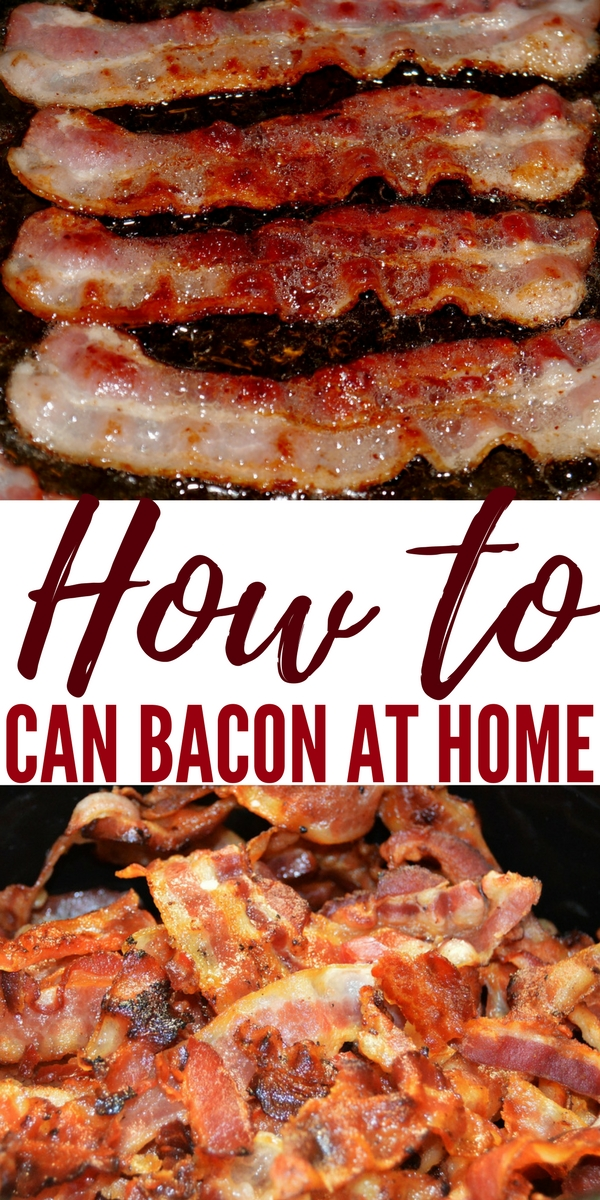 How to Can Bacon at Home — For you guys out there that think that canning is for a bunch of old grannies let me tell you……canning can be manly.