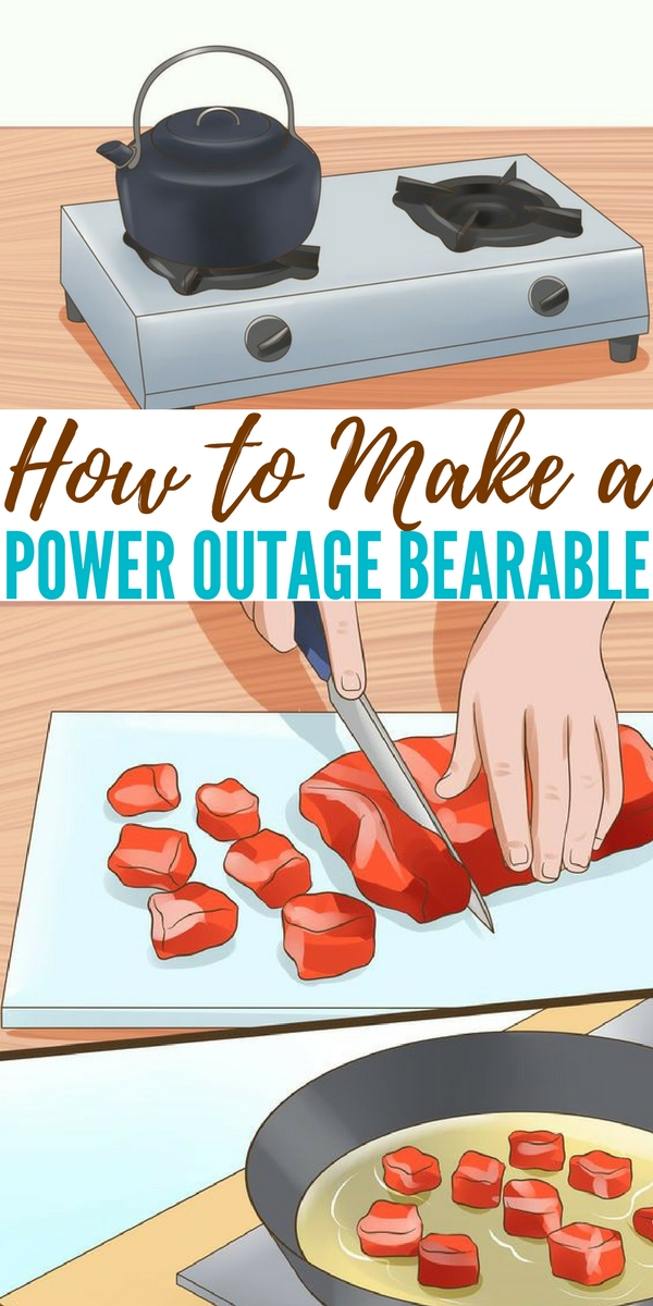 How to Make a Power Outage Bearable — Power outages are actually a common occurrence, especially if you get a lot of snow in the winter or a lot of storms in the spring. The refrigerator stops running and everything starts to defrost. If you live in the tropical climate, the air conditioning is the first to shut off and so are the ceiling fans.