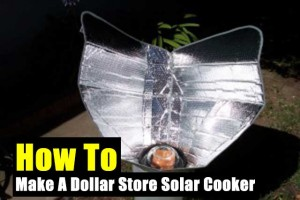 How To Make A Dollar Store Solar Cooker