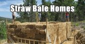 Straw Bale Homes — You may look at this post and say this is ridiculous, and that is the very thing I thought before researching into this concept more.