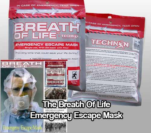 The Breath Of Life Emergency Escape Mask