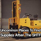 Uncommon Places To Find Supplies After The SHTF