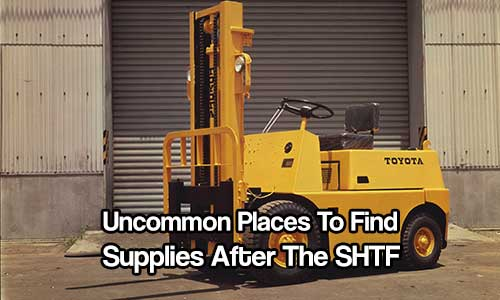 Uncommon Places To Find Supplies