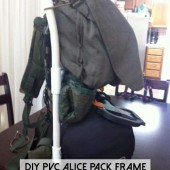 DIY PVC Alice Pack Frame
