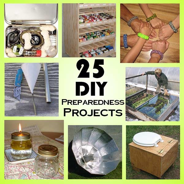 25 DIY Weekend Preparedness Projects - SHTF Prepping ...