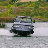HUMDINGA – High Performance BOV On Land And On Water