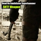 Dead On Annihilator Superhammer: SHTF Weapon - The Dead On tools annihilator 18 in. wrecking/utility bar is the perfect tool for demolition and putting things back together.