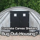 Concrete Canvas Shelters