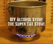 DIY Alcohol Stove: The Super Cat Stove - These are super easy to make and they are a good cheap way to have a stove in the bush without having to look at commercially available options.
