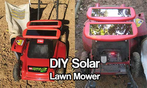 DIY Solar Lawn Mower