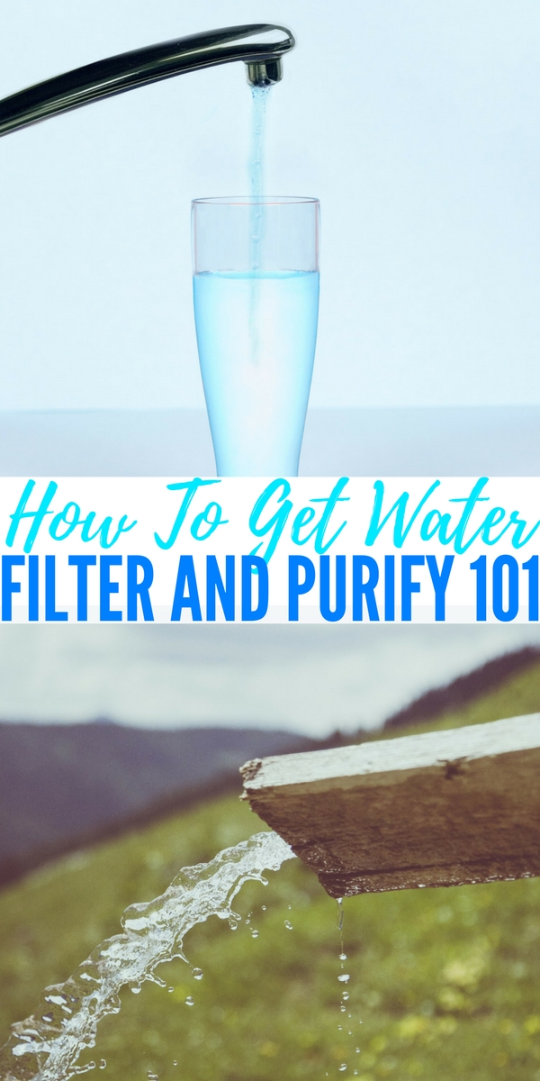How To Get Water, Filter and Purify 101 — Water is essential for surviving more than a few days and will be your #1 priority in a survival situation. On average we can survive around 3 days without water. If SHTF and you don't have a source for water or the means to purify it, you will likely die fairly quickly.