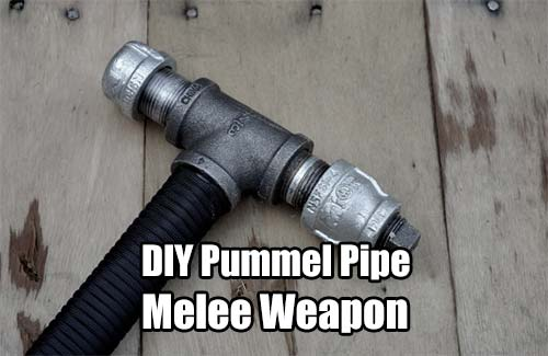 Pummel Pipe Melee Weapon - You just never know if you will find yourself in a SHTF situation, what if you run out of ammo, what if you want something more than a baseball bat? The benefits of having a well-made melee weapon on hand can't be argued against.