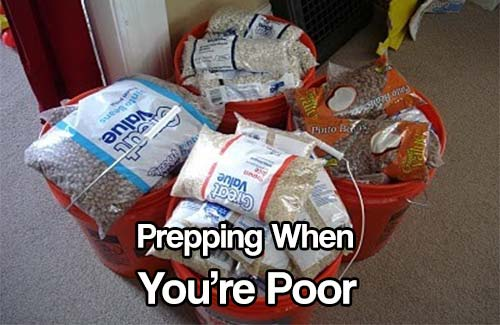 Prepping When You're Poor
