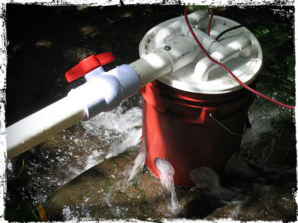 How To Make A 5 Gallon Bucket Hydroelectric Generator
