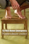 13 FREE Home Emergency Preparedness Guides - These 13 free home emergency preparedness guides will help you get through some common emergencies that we all face as home owners.