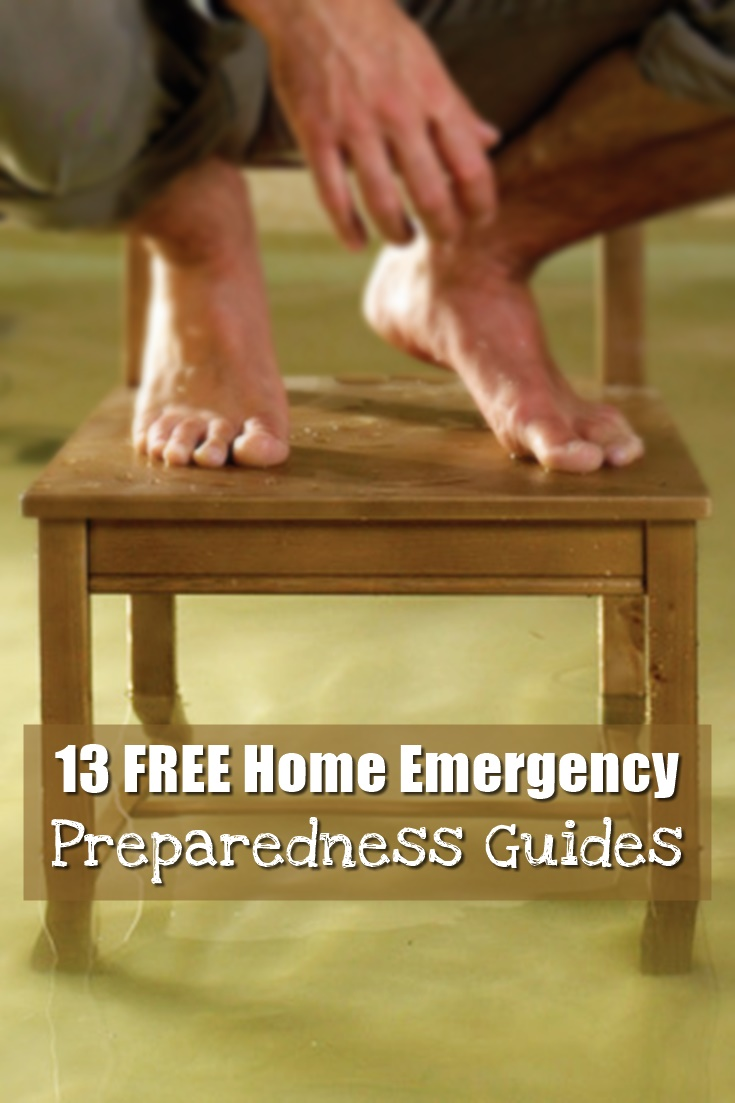 Do It Yourself Home Design: 13 FREE Home Emergency Preparedness Guides