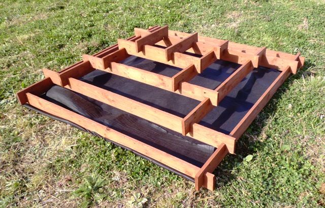 Diy pyramid garden planter from old pallets shtf prepping central - Jardiniere en palette ...
