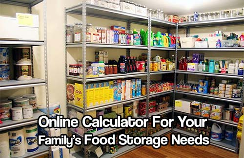 Calculate Your Family's Food Storage Needs