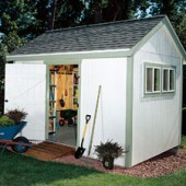 Build Your Own Garden Shed – Step By Step Instructions