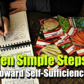 Ten Simple Steps Toward Self-Sufficiency