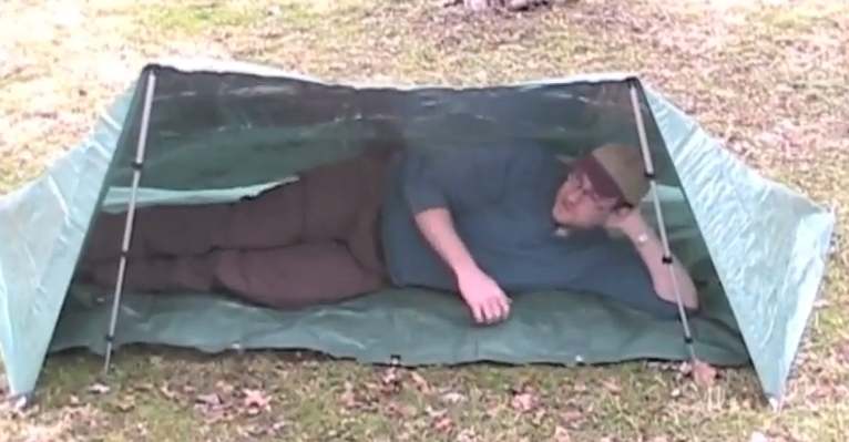 Bug Out Shelter Ideas : How to build a survival tarp shelter in minutes shtf