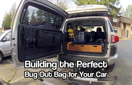 Building the Perfect Bug Out Bag for Your Car