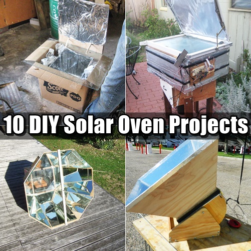 10 DIY Solar Oven Projects