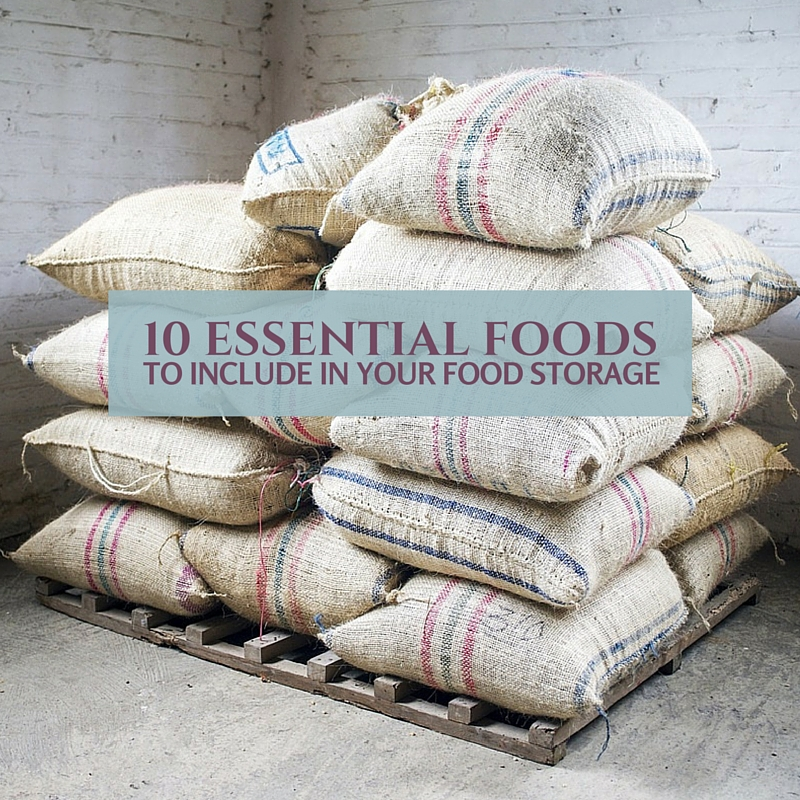 10 Essential Foods To Include In Your Food Storage - When starting your food storage, experts suggest keeping things simple. That means beginning with your most immediate needs. See this prepper's list which contains items required to meet those needs.