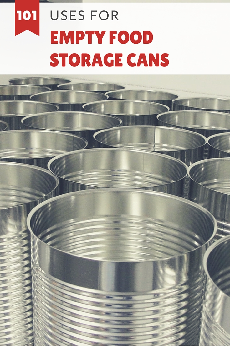 101 Uses for Empty Food Storage Cans - If you have empty #10 food storage & 101 Uses for Empty Food Storage Cans - SHTF Prepping u0026 Homesteading ...