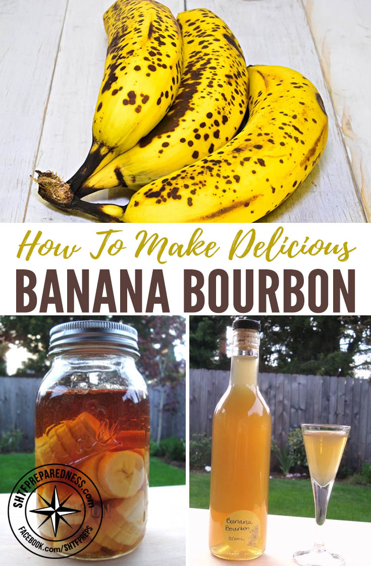 How To Make Delicious Banana Bourbon — I hear more and more people talking about banana liqueurs they have had and how tasty they are. At some point, I would like to do a banana rum.